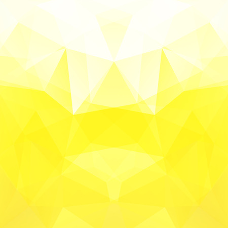 crumple: Background of geometric shapes. Yellow mosaic pattern. Vector EPS 10. Vector illustration