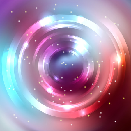 brown swirl: Abstract background with luminous swirling backdrop. Shiny swirl background. Intersection curves. Pink, purple, brown, blue colors.