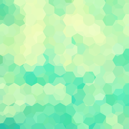scrunch: Vector background with hexagons. Can be used in cover design, book design, website background. Vector illustration. Green, yellow colors. Illustration