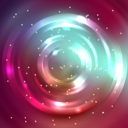 energy flow: Abstract circle background, Vector design. Glowing spiral. The energy flow tunnel. Purple, brown, blue colors. Illustration