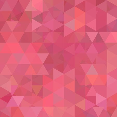 dirty girl: Abstract background consisting of triangles. Geometric design for business presentations or web template banner flyer. Vector illustration. Pink color. Illustration