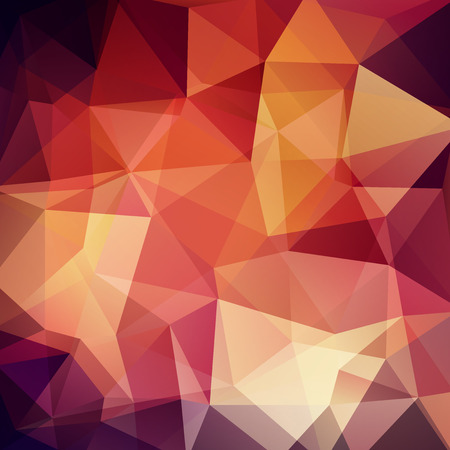double page: Polygonal vector background.