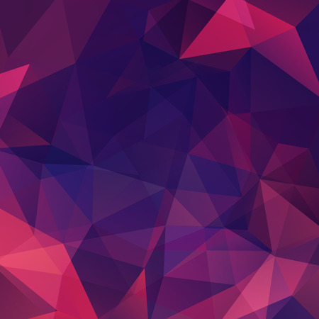 deep pink: Polygonal vector background. Can be used in cover design, book design, website background. Vector illustration. Pink, purple colors.