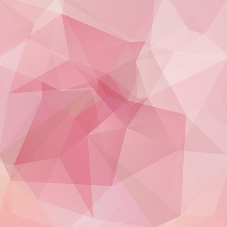 pastel color: Abstract polygonal vector background. Pink geometric vector illustration. Creative design template.