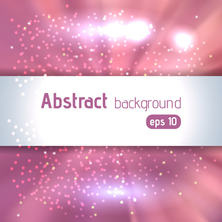 radiant light: Beautiful rays of light. Shiny eps 10 background. Colorful radial radiant effect. Vector illustration. Pink, white colors.