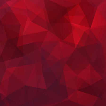 Geometrisches Muster, Polygon Dreiecke Vektor Hintergrund in ???? und ???? töne Illustration Muster Standard-Bild - 55155244