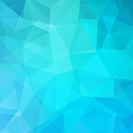 double page: Polygonal vector background. Can be used in cover design, book design, website background. Vector illustration. Blue color. Illustration
