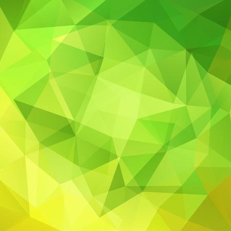 light green: Abstract polygonal vector background. Green geometric vector illustration. Creative design template. Illustration