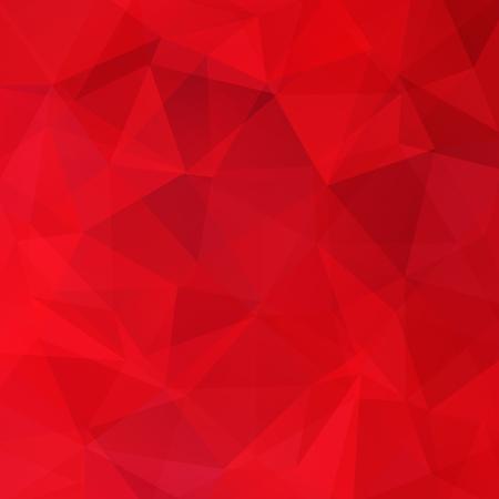 Abstrakte geometrische Stil roten Hintergrund. Red Business-Hintergrund Vektor-Illustration