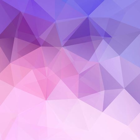 deep pink: Polygonal vector background. Can be used in cover design, book design, website background. Vector illustration. Pink, violet colors.