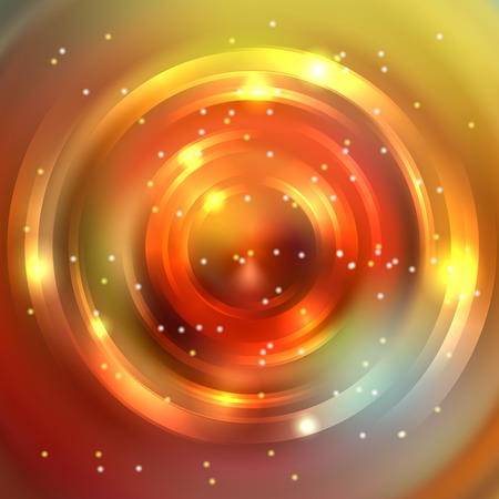 brown swirl: Abstract background with luminous swirling backdrop. Shiny swirl background. Intersection curves. Orange, brown, yellow colors.
