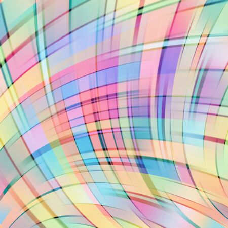 Colorful smooth light lines background. pastel colors. Vector illustration. Colorful background. Pink, violet, yellow, orange colors.