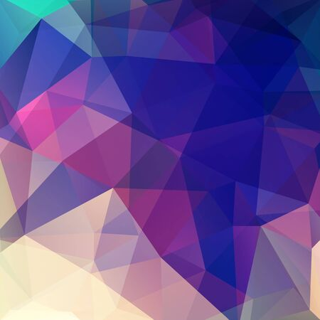 deep pink: Background of geometric shapes. Colorful mosaic pattern. Vector EPS 10. Vector illustration. Blue, pink, beige colors. Illustration