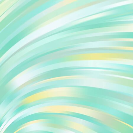 LIght green smooth light lines background. Green colors. Vector illustration.