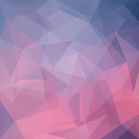 consisting: Abstract background consisting of triangles. Illustration