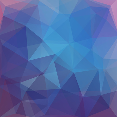 scrunch: Abstract polygonal vector background. Colorful geometric vector illustration. Creative design template. Blue, violet colors.