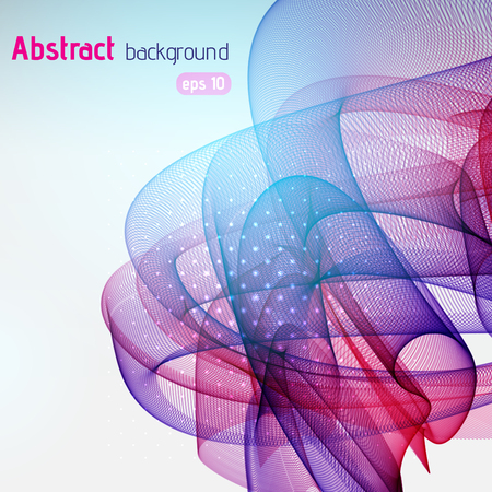 fading: Abstract colorful vector background. Pink, purple, blue colors.