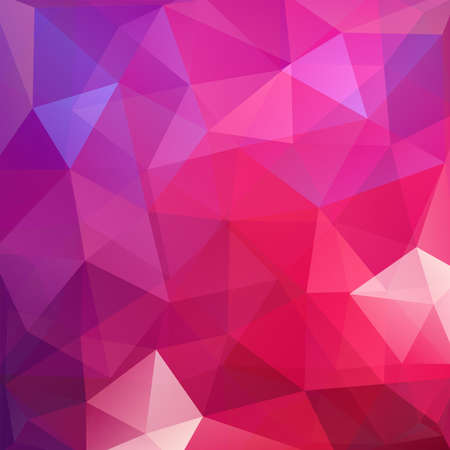 square composition: Background made of triangles. Square composition with geometric shapes.