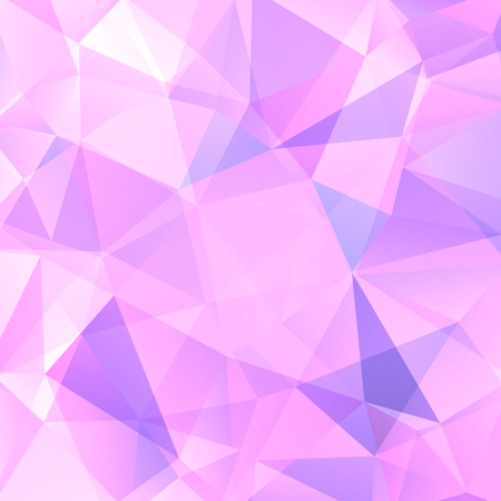 abstract background consisting of pastel pink triangles vector