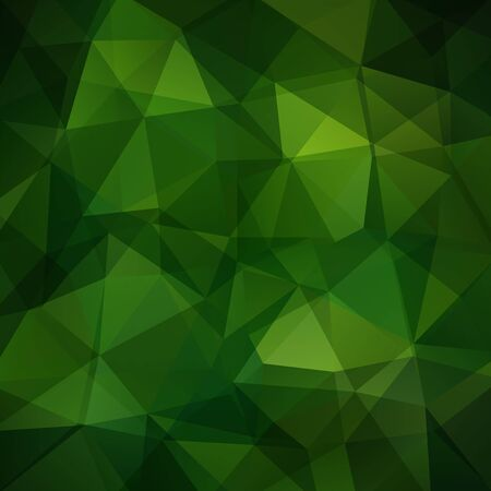 be green: Polygonal vector green background. Can be used in cover design, book design, website background. Vector illustration