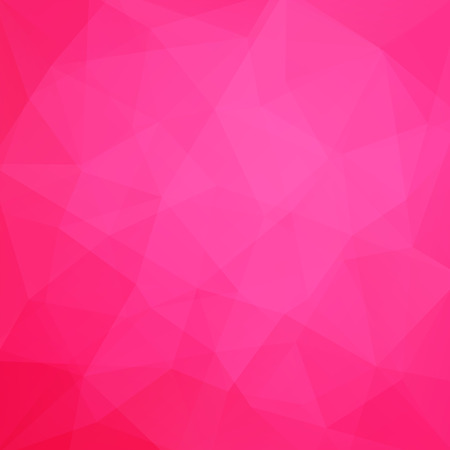 pink banner: Abstract background consisting of pink triangles. Geometric design for business presentations or web template banner flyer. Vector illustration