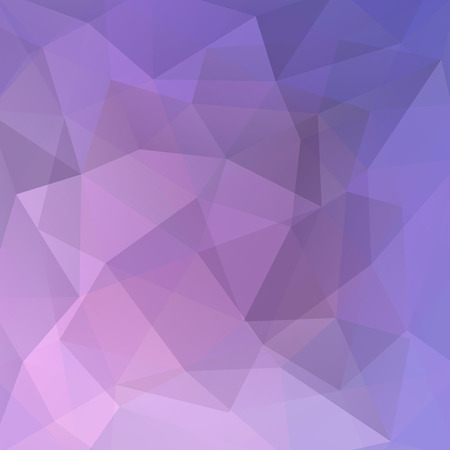 double page: Polygonal vector background. Can be used in cover design, book design, website background. Vector illustration. Pink, violet colors.
