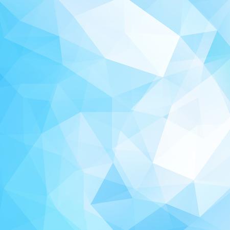 Abstract polygonal vector background. Blue geometric vector illustration. Creative design template. Vettoriali