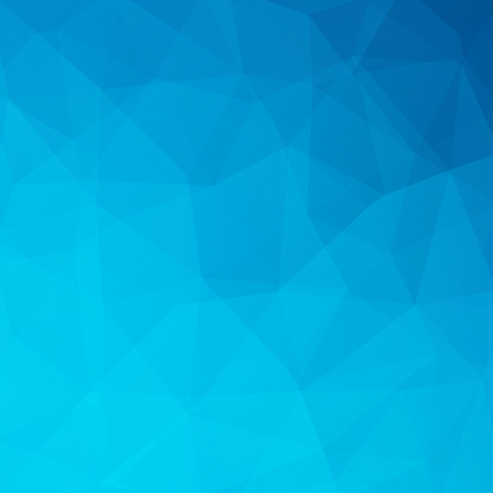 double page: Polygonal blue vector background. Can be used in cover design, book design, website background. Vector illustration