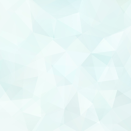 Abstract Background Consisting Of Light Blue Triangles Vector
