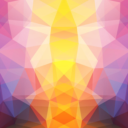pink and black: Background of geometric shapes. Colorful mosaic pattern. Vector EPS 10. Vector illustration. Yellow, pink, black colors. Illustration