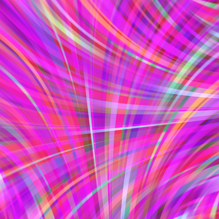 Colorful smooth light lines background. Pink colors. Vector illustration