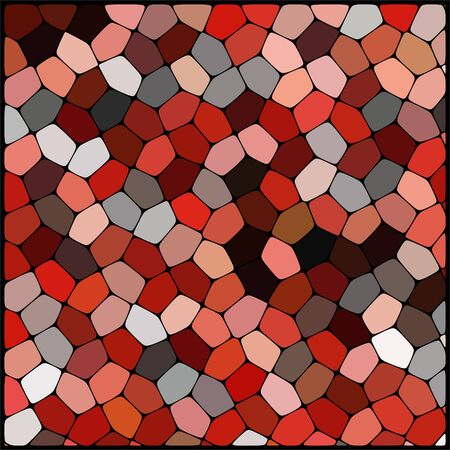 cobble: abstract background consisting of red, white, black geometrical shapes