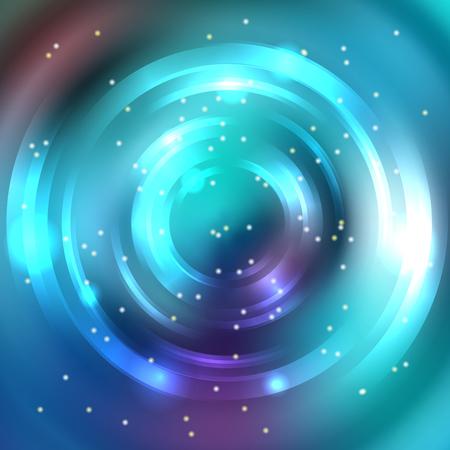 energy flow: Abstract circle background, Vector design. Glowing spiral. The energy flow tunnel. Blue colors
