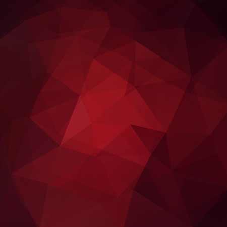 Polygonal red vector background. Can be used in cover design, book design, website background. Vector illustration