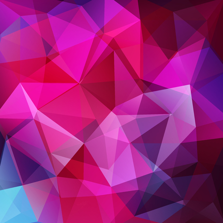 Abstract polygonal vector background. Pink geometric vector illustration. Creative design template.