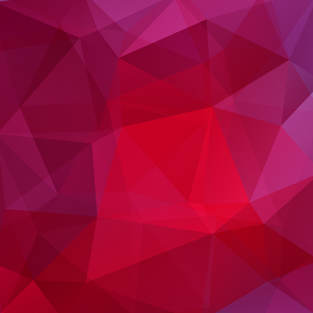 deep pink: Polygonal vector background. Can be used in cover design, book design, website background. Vector illustration. Red, pink, purple colors