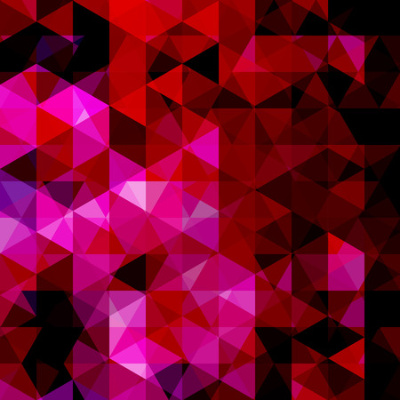 Abstract vector background with triangles. Pink geometric vector illustration. Creative design template. Stock Photo