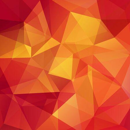 Background of geometric shapes. Mosaic pattern. Vector Illustration