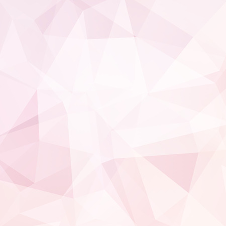 deep pink: Polygonal vector background. Can be used in cover design, book design, website background. Vector illustration. Pink, white colors.