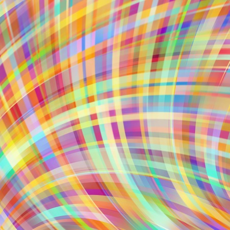 Colorful smooth light lines background. Red, green, yellow, blue colors. Vector illustration. Illustration