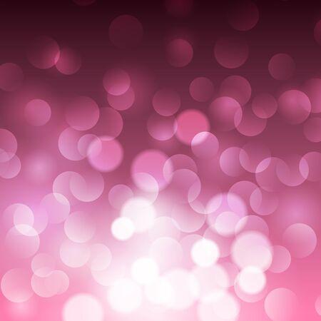 corazon: St.Valentines shiny glitter abstract pink background, vector illustration Illustration