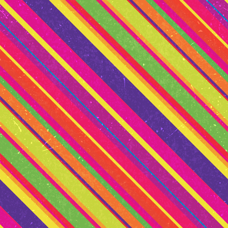 Diagonal colorful stripes pattern, seamless texture background. Ideal for printing onto fabric and paper or decoration. Pink, red, yellow, blue, green colors