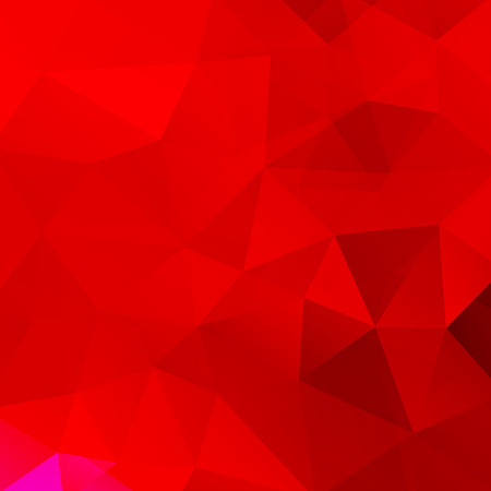 Polygonal red background. Can be used in cover design, book design, website background. illustration Illustration