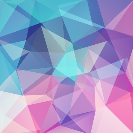 Background of geometric shapes. Colorful mosaic pattern.