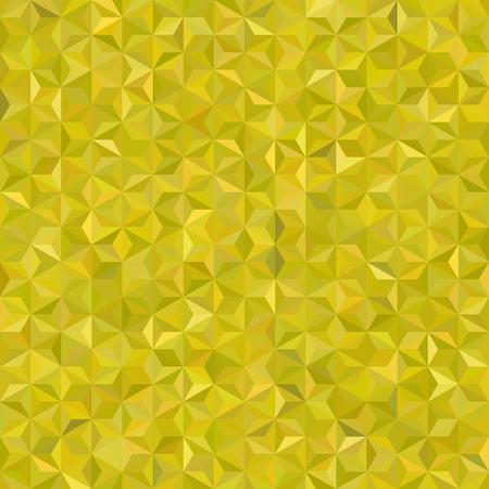 Background of yellow geometric shapes. Seamless mosaic pattern. illustration