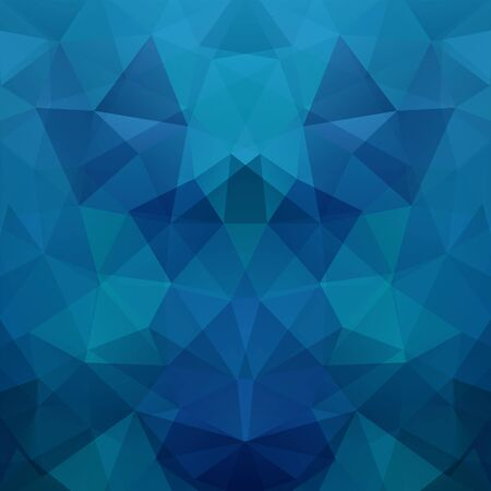 scrunch: Abstract polygonal background. Dark blue geometric illustration. Creative design template.