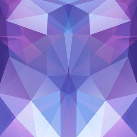 reflection in mirror: Background Blue, pink, violet, white geometric shapes. Mosaic pattern. Vector EPS 10. Vector illustration