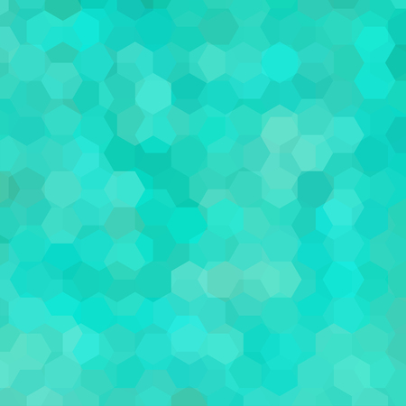 Vector background with green hexagons. Can be used in cover design, book design, website background. Vector illustration