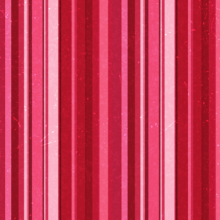 Vertical red, pink stripes pattern, seamless texture background. Illustration