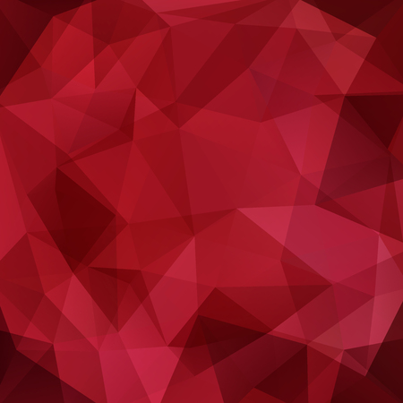 diamond texture: Background of geometric shapes. Red mosaic pattern. Vector EPS 10. Vector illustration